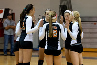 2013-09-17 Waynesville Volleyball vs Dixie