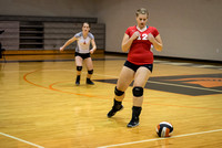 2013 Waynesville Volleyball vs Dixie