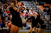 2013-10-10 Waynesville Varsity Volleyball vs Northridge