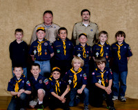 2012 Cub Scouts Blue and Gold