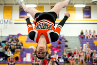 2014-02-15 Waynesville Competition Cheer at Bellbrookl-2