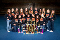 2014 Competition Cheer Award Shoot.