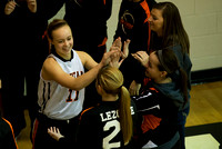 2013-12-14 Waynesville Lady Spartan Basketball vs Northridge