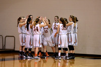 2016-02-04 Waynesville Girls Basketball vs Monroe